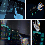 Virtual Reality Menu Interaction with a Smartwatch