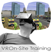 Virtual Simulation and On-Site Training for First Responders